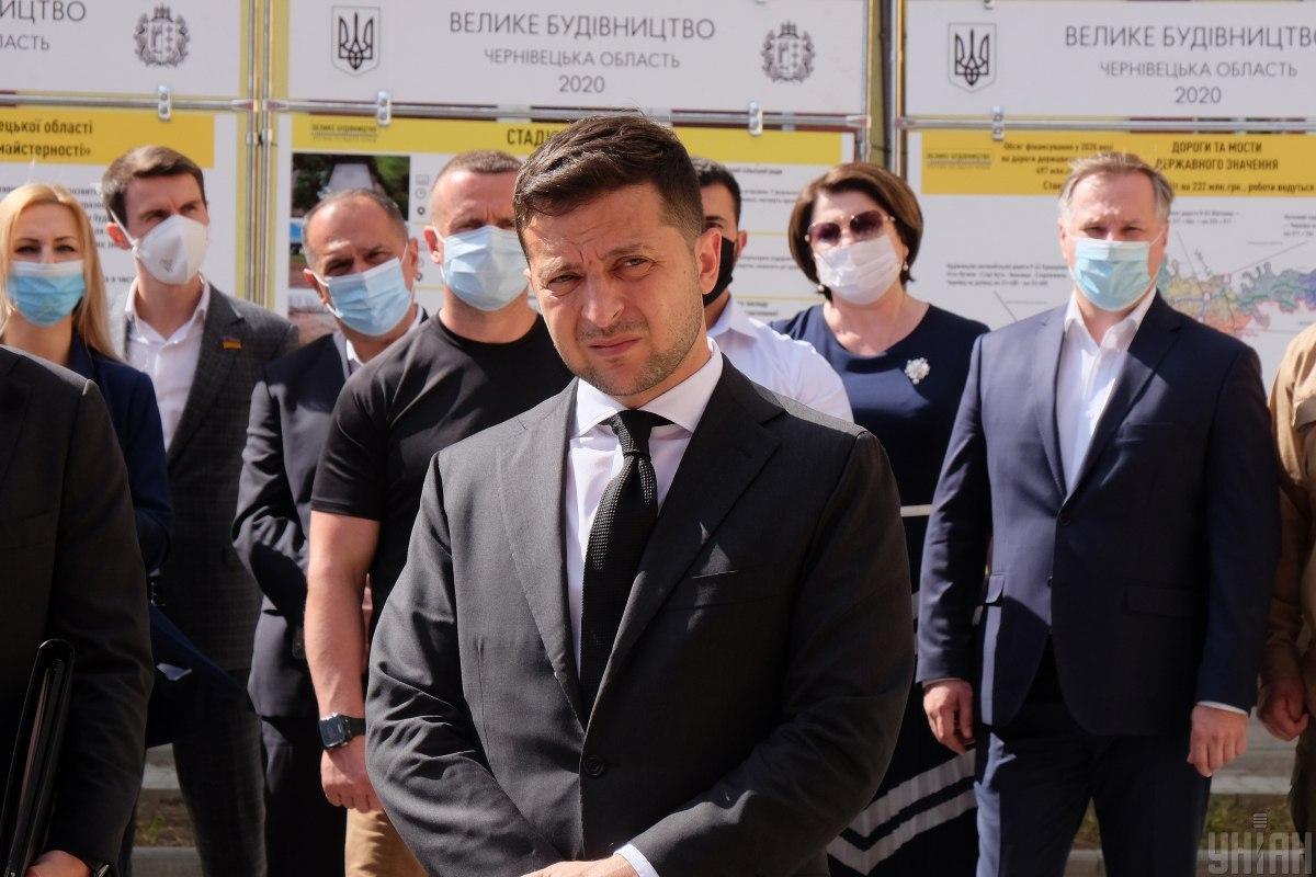 Зеленський заявив, що підтримує незалежність Нацбанку / фото УНІАН