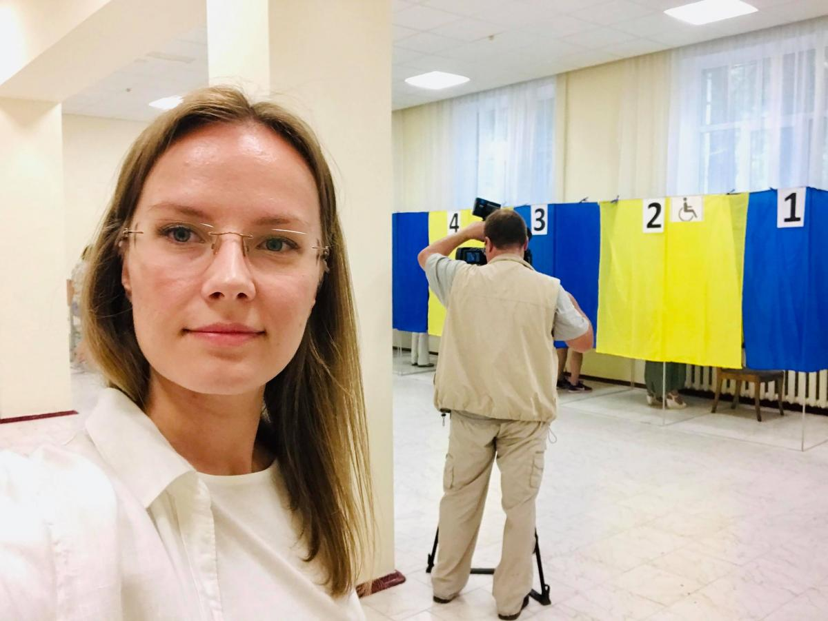 ЦВК визнала обраною народним депутатом України Аліну Свідерську / фото facebook.com/alisvika