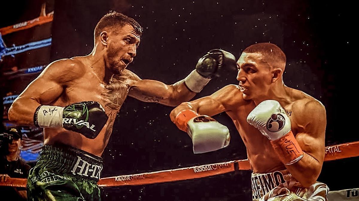 Ломаченко и Лопес сразятся за звание абсолютного чемпиона мира / коллаж BoxingScene