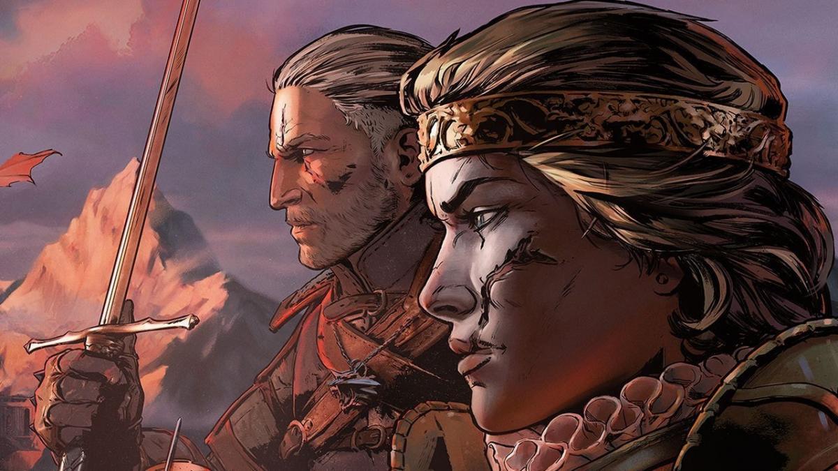 Игра о приключениях королевы Мэвы, с которой Геральт пересекался в книгах /фото CDPR