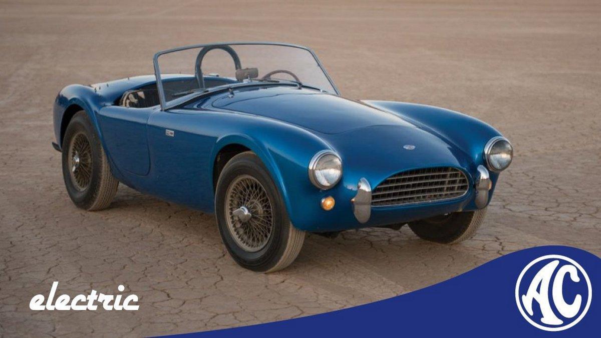 Компания выпустит всего 58 экземпляров электромобиля / фото AC Cars