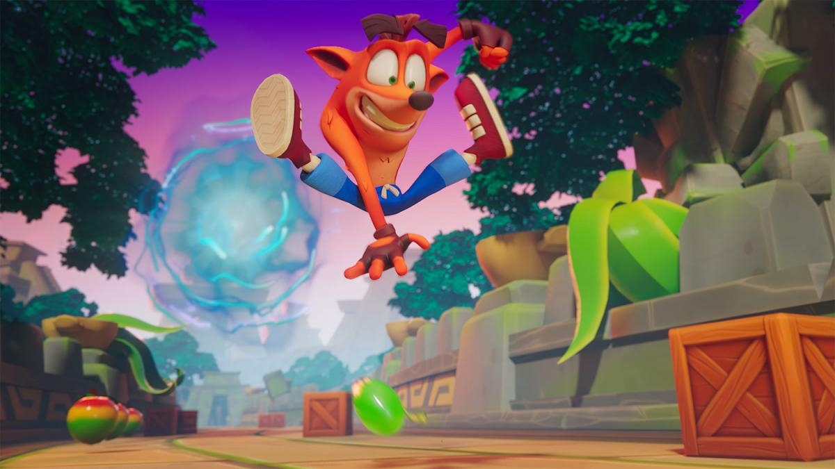 Crash Bandicoot: On the Run / фото king.com