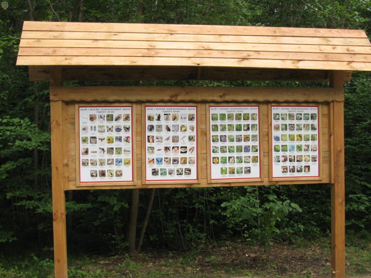 Также лесники установили информационные стенды / фото loda.gov.ua