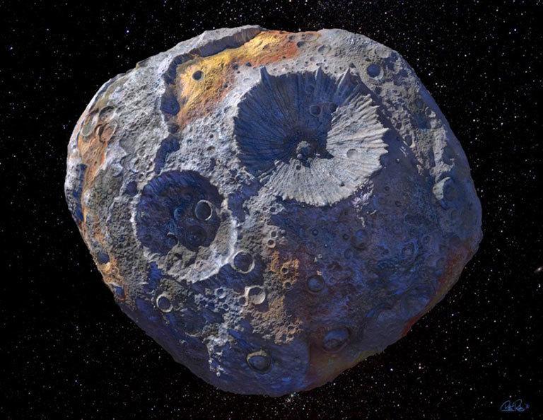 Астероїдів усього - сотні тисяч / фото NASA
