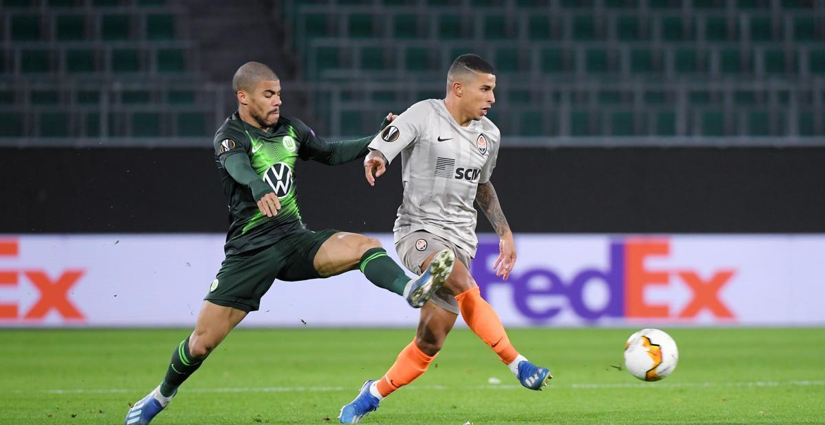 Шахтар обіграв Вольфсбург у першому матчі / фото ФК Шахтар