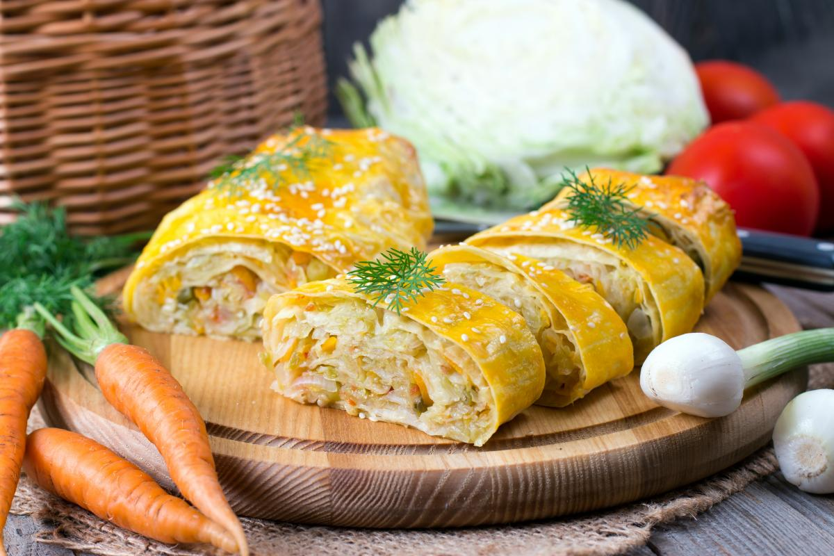 Лучшие рецепты пирога с капустой / фото ua.depositphotos.com