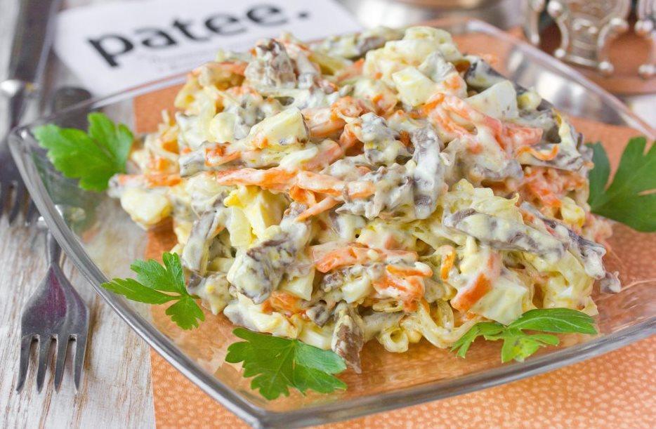 Как приготовить салат из сердец / фото patee.ru