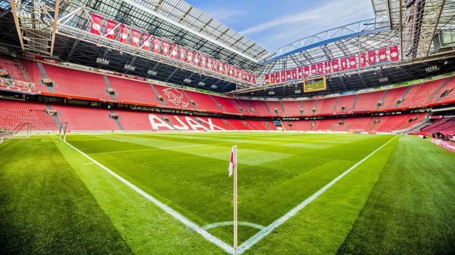 Арена Аякса з квітня не приймала матчі / фото twitter.com/afcajax