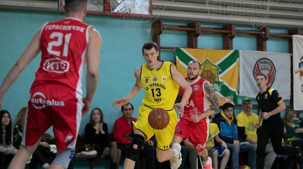Тернополь выступал в Высшей лиге / фото facebook.com/bcternopil
