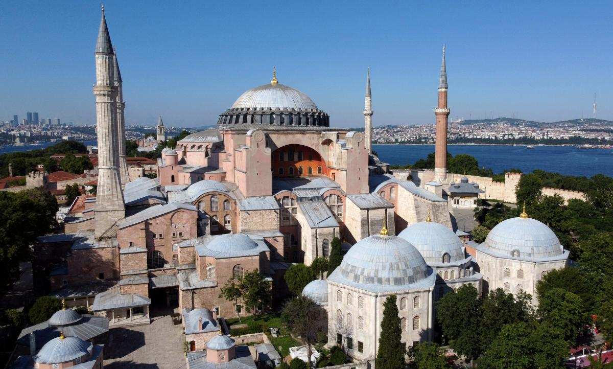 Собор Святой Софии в Стамбуле / фото REUTERS