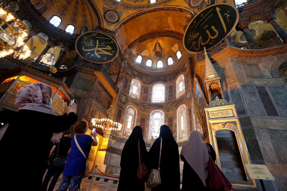 Собор Святої Софії у Стамбулі / REUTERS