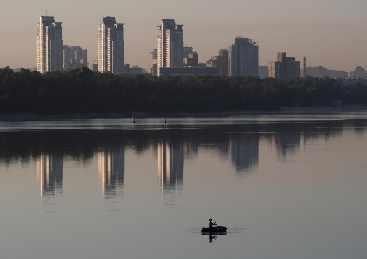Погода Киев 12 августа 2020 - температура до +22°, без осадков ...