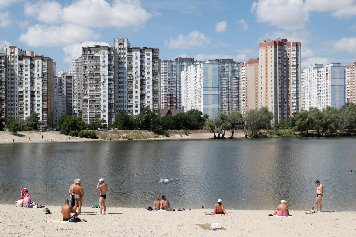 Київ / ілюстрація / REUTERS
