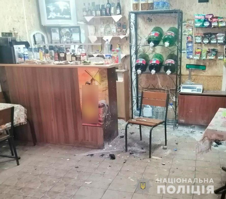 Во время взрывов никто не пострадал / фото Нацполиция
