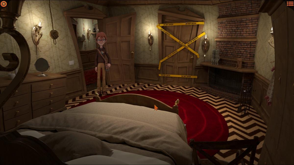 Комната для ночлега в Боун-Тауне / скриншот