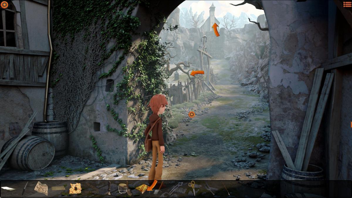 Путь к церкви / скриншот