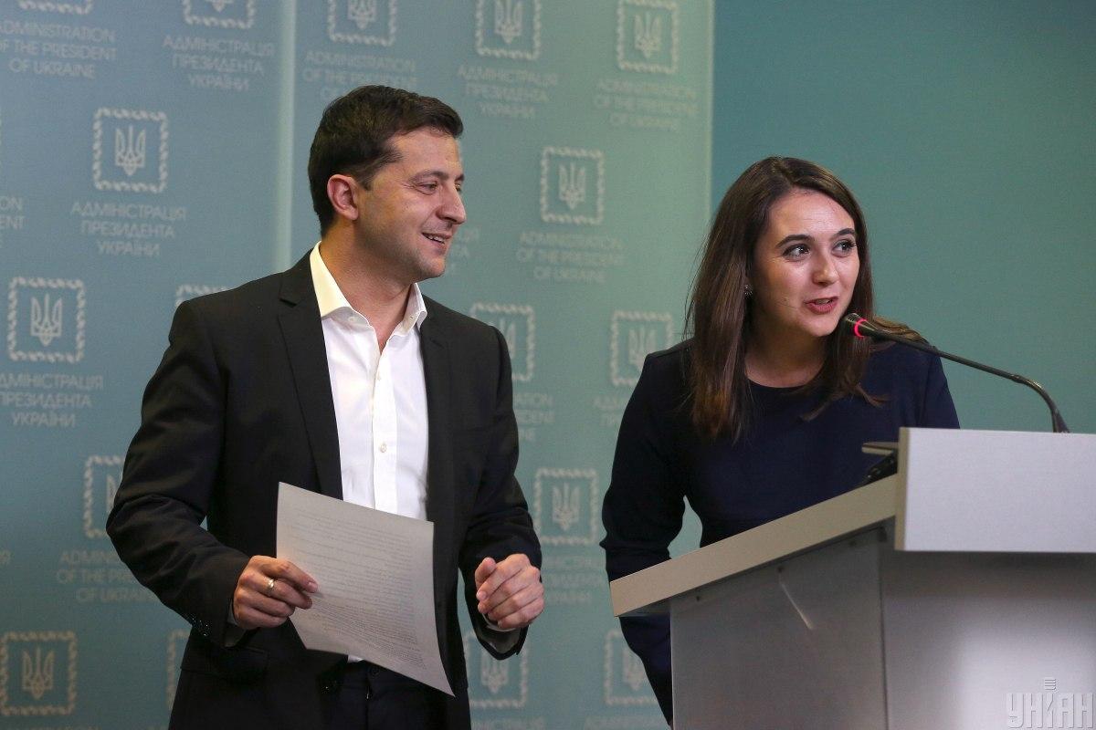 Юлия Мендель покинула должность пресс-секретаря в начале апреля 2021 года / УНИАН