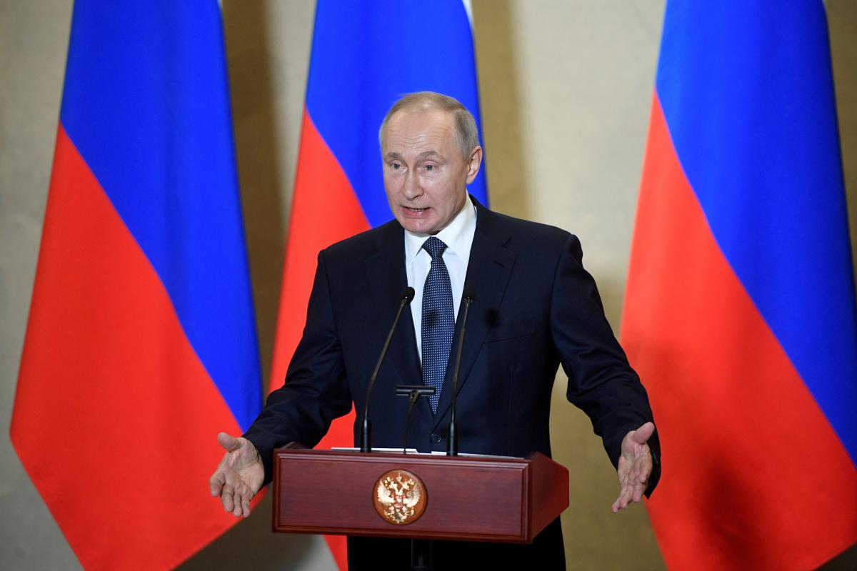 Путин призвал расчистить мировую торговлю от санкций / фото REUTERS