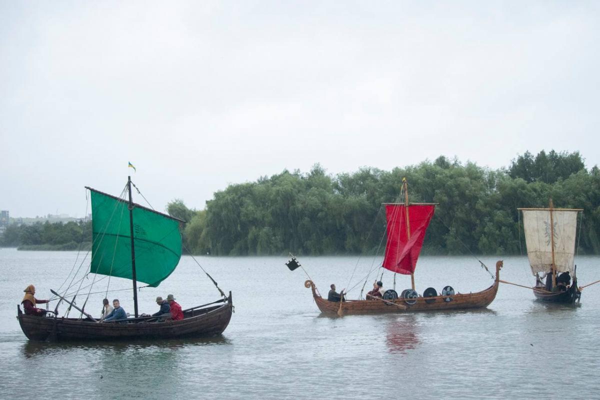 Фестиваль древних лодок / Фото facebook Галины Кульчицкой