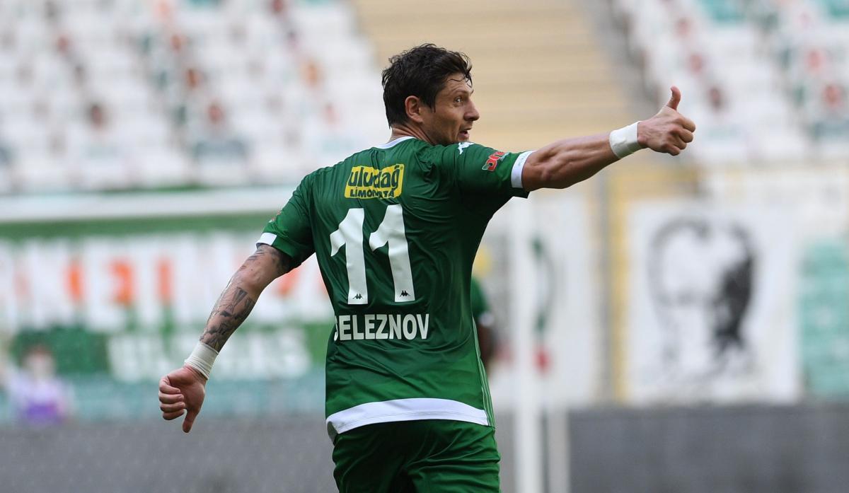 На счету Евгения Селезнева 10 голов в сезоне / фото twitter.com/BursasporSk