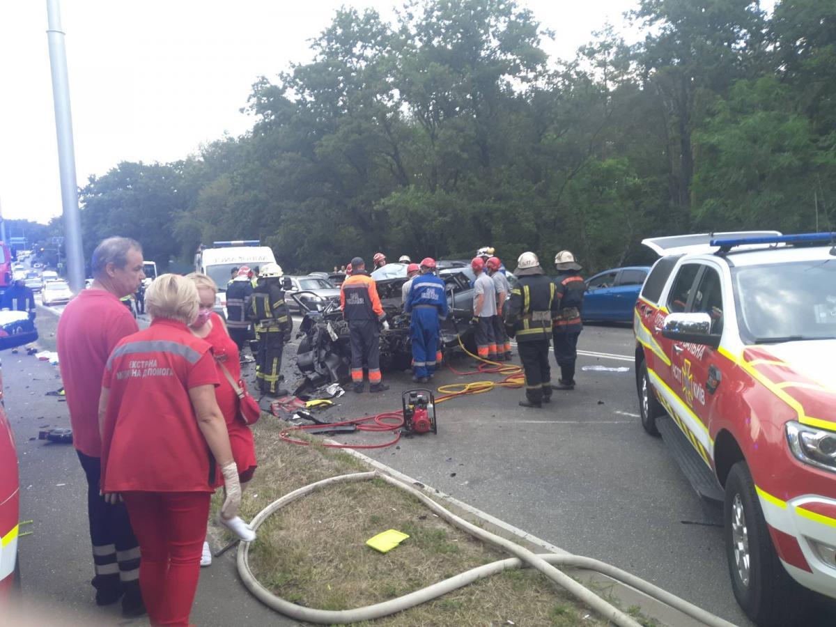 Аварія сталася 12 липня / фото ДСНС