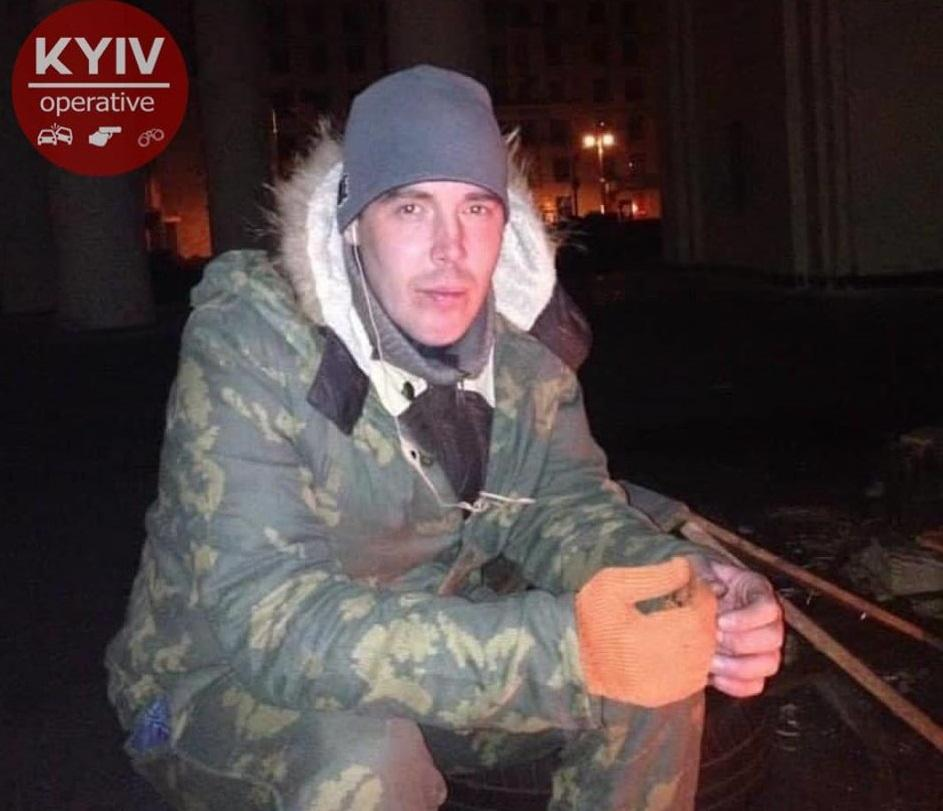 39-летний водитель автомобиля Mercedes Антон Желепа / фотофото KyivOperativ