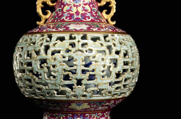 Ваза династії Цін / Фото Courtesy sotheby's