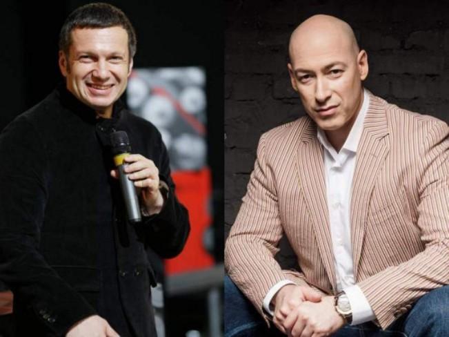 """Гордон присвятив пісню """"італійському партизану"""" Соловйову / колаж Факти"""
