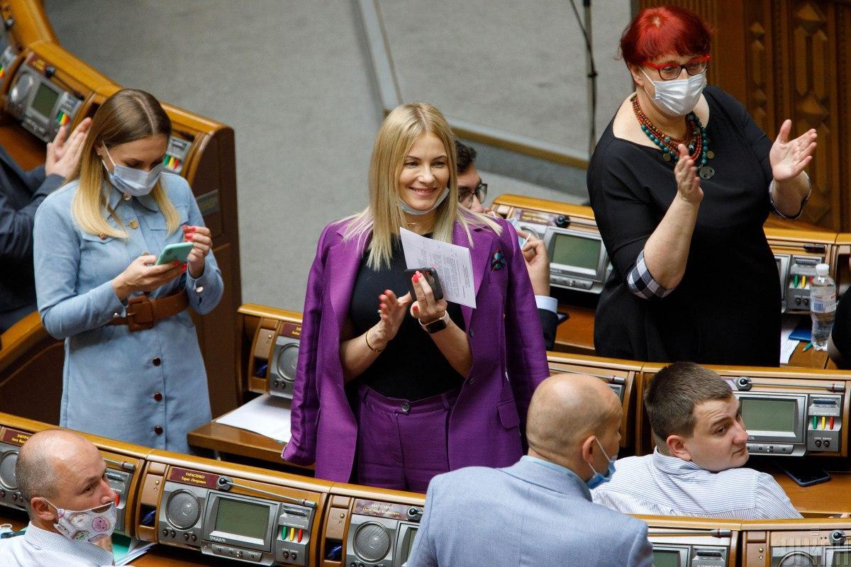 Трендовый костюм / фото УНИАН