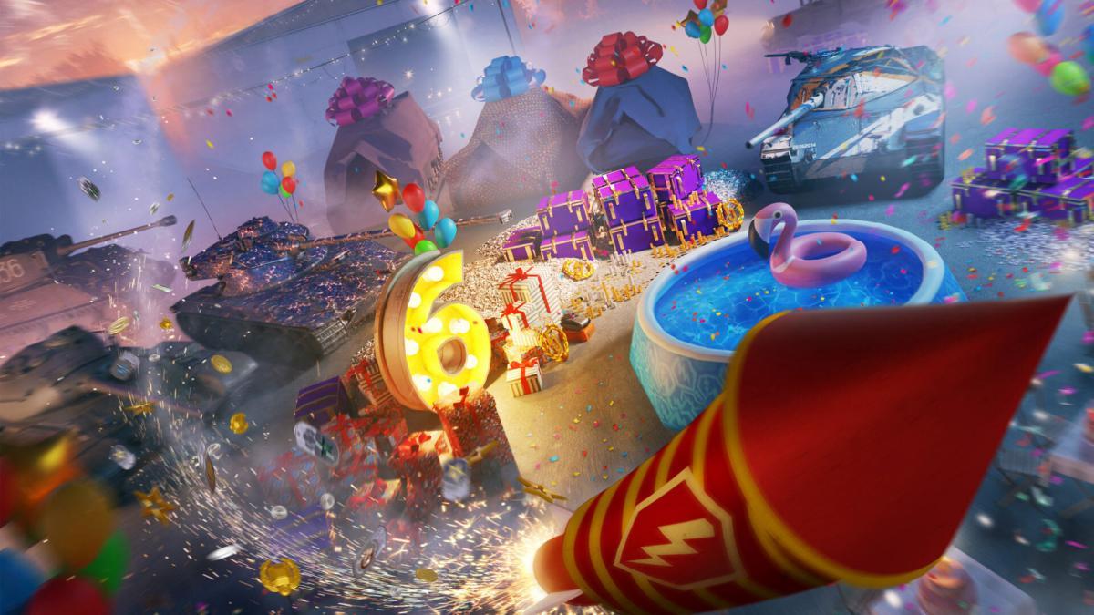 Игре World of Tanks Blitz исполнилось шесть лет / wargaming.net