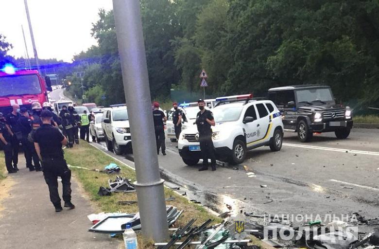 ДТП под Киевом - пьяный водитель 7 раз привлекался к ответственности / Нацполиция