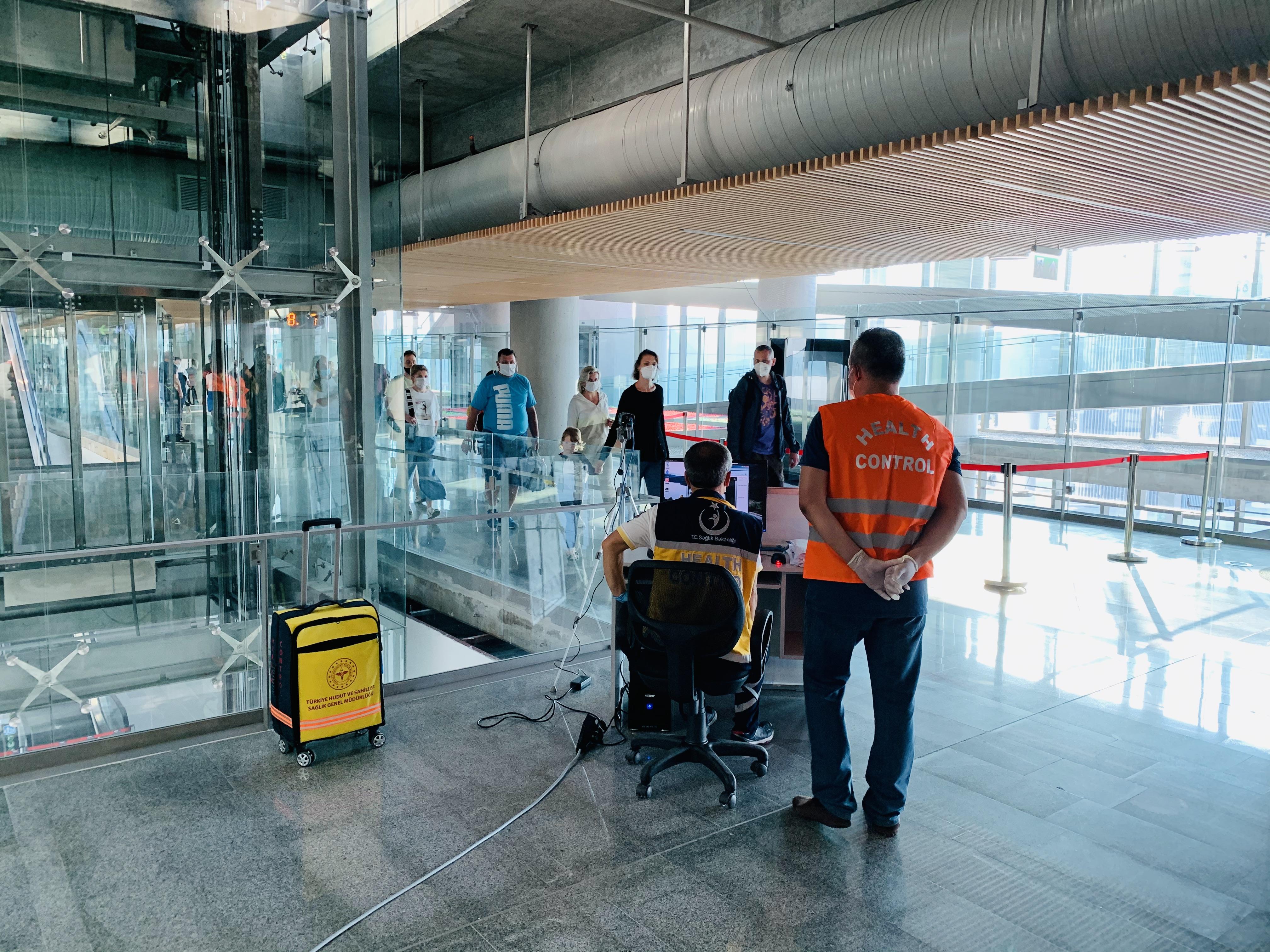 Ковид не пройдет. Служба безопасности аэропорта «Даламан» увидит каждого гостя с повышенной температурой