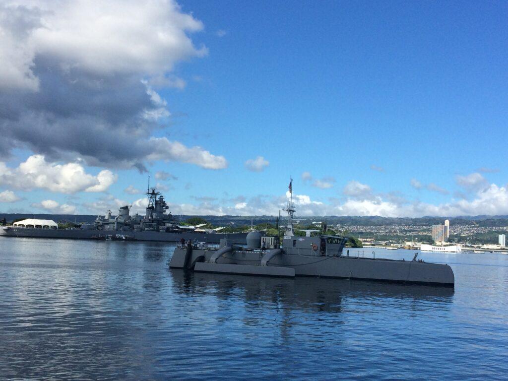 Флот США замовив створення прототипу безпілотного корабля / Breaking bad