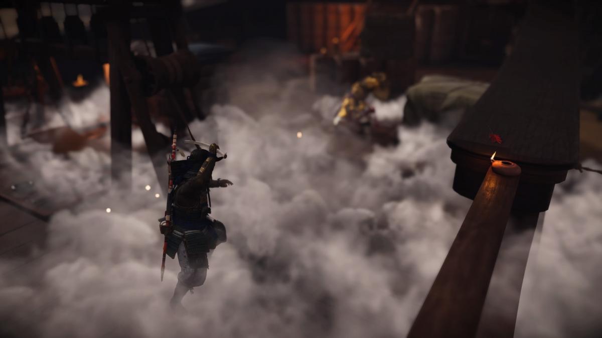 Дымовые бомбы дают тактическое преимущество в бою / скриншот