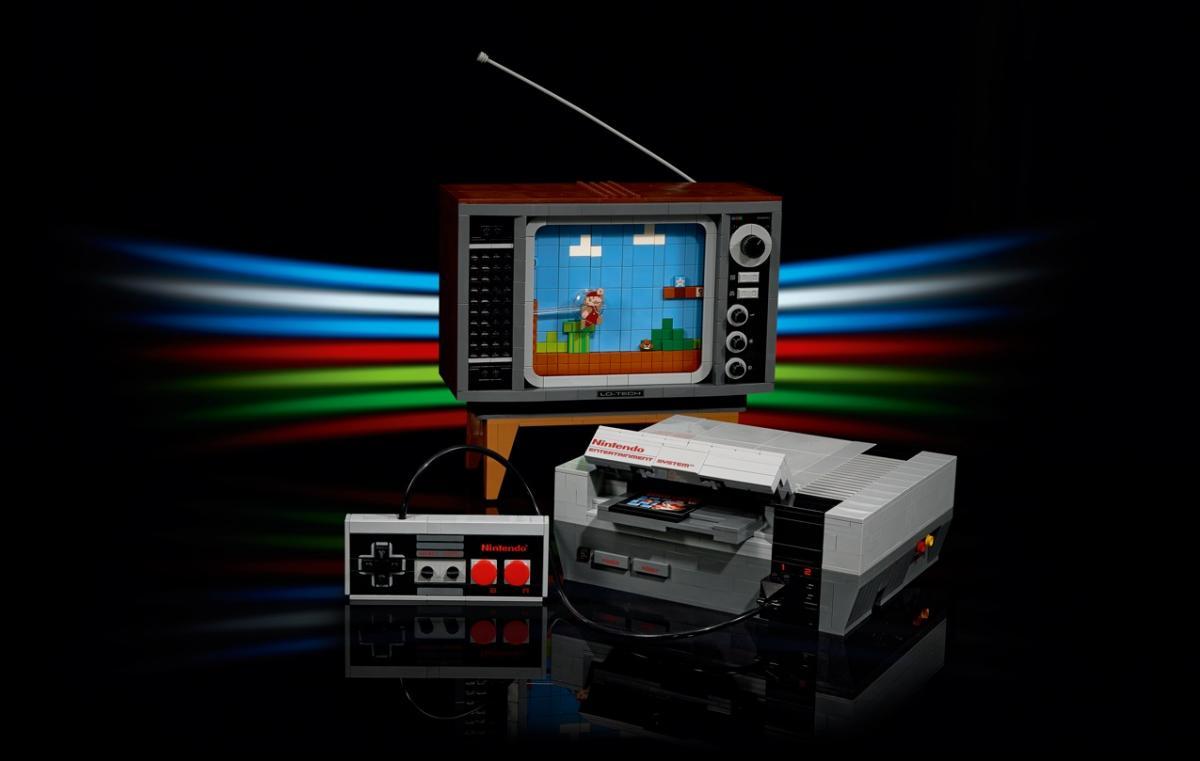 Набор LEGO Nintendo Entertainment System / twitter.com