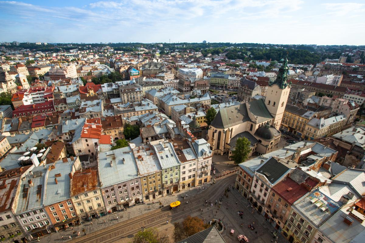 Lviv was included in the orange zone / Photo from ua.depositphotos.com