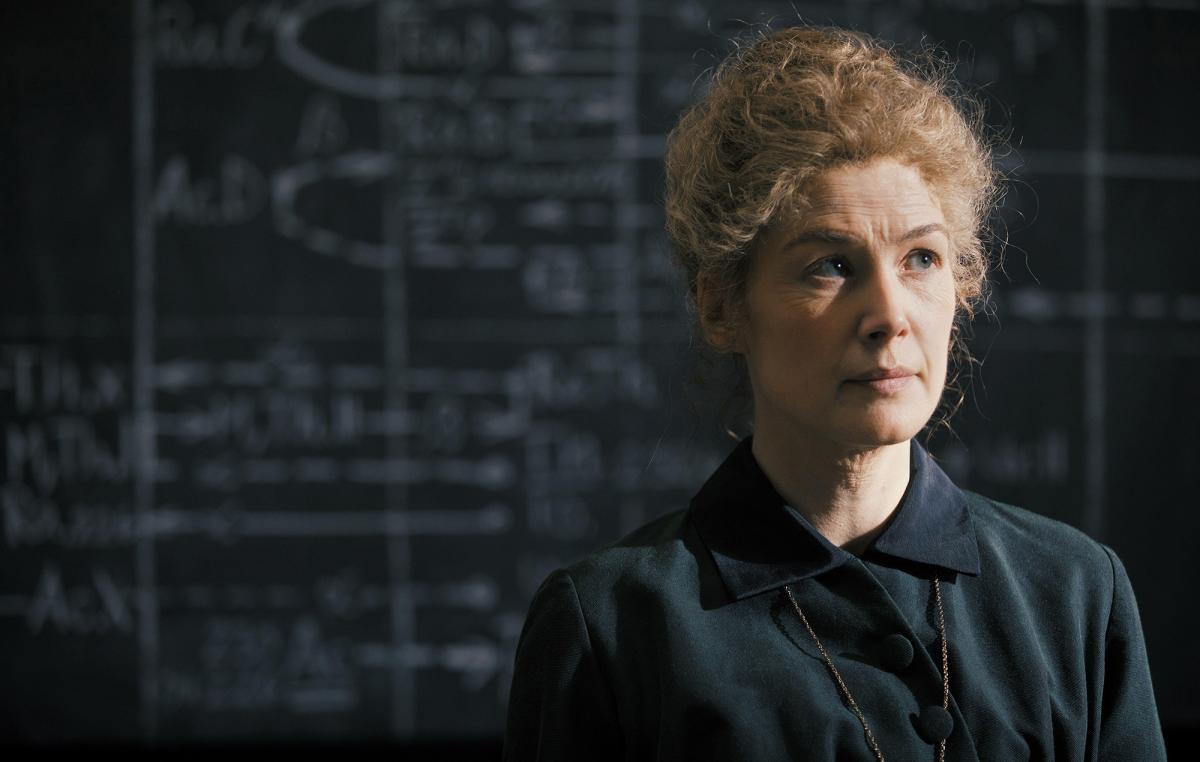 Кюрі зіграє актриса Розамунд Пайк / Фото nme.com