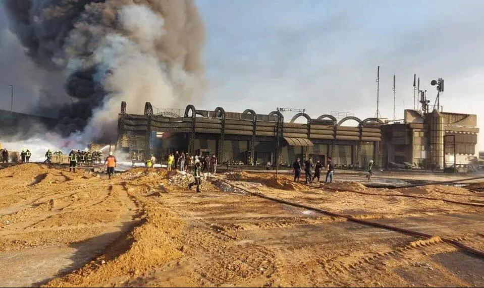 """Стався розрив нафтопроводу """"Шукаїр-Мостород"""" / Фото almasryalyoum.com"""