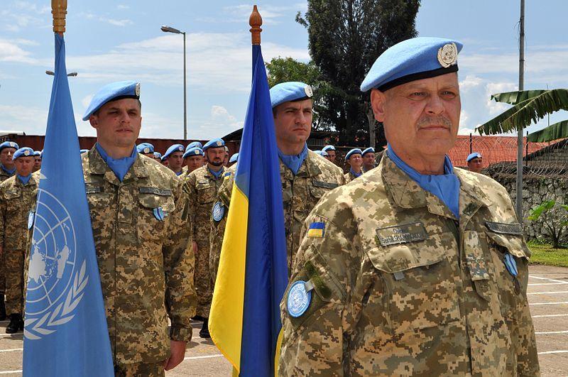 День украинских миротворцев - поздравления / фото wikipedia.org