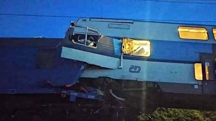 Водитель пассажирского поезда мог пропуститьсигнал остановки/ фото ZPRAVY.AKTUALNE.CZ