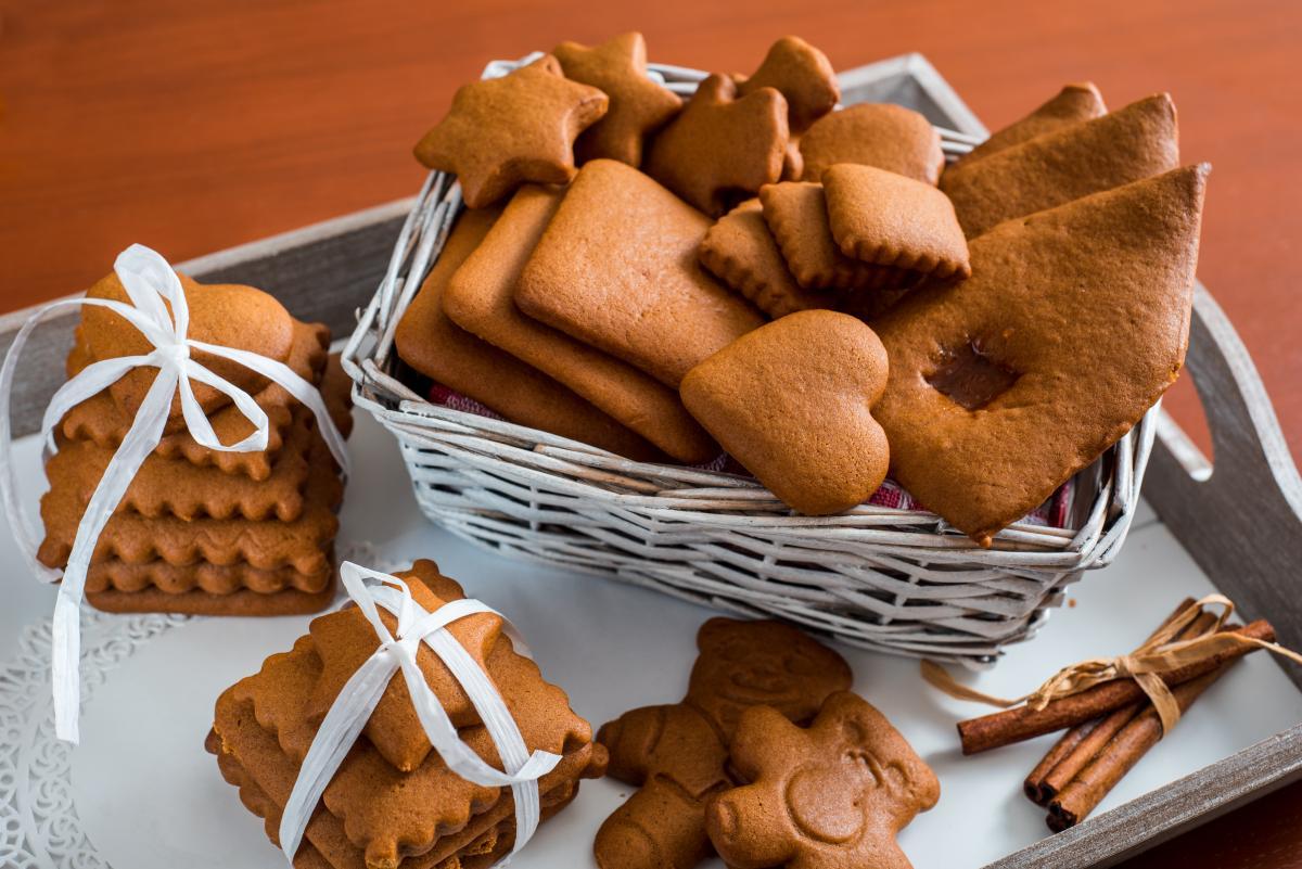 Вкусное имбирное печенье - рецепт / фото ua.depositphotos.com