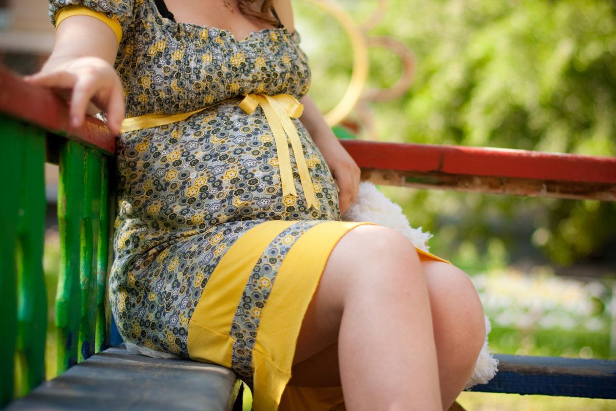 Украинка родила ребенка под стенами роддома / фото: ua.depositphotos.com