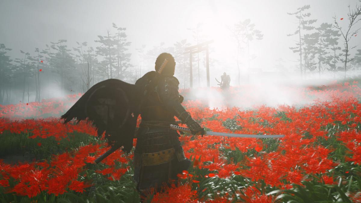 Пользователи выбрали Ghost of Tsushima лучшей игрой года / фото Sucker Punch Productions
