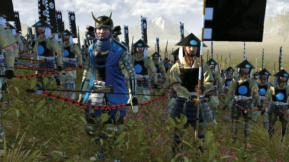 В Fall of the Samurai показана более поздняя эпоха / скриншот