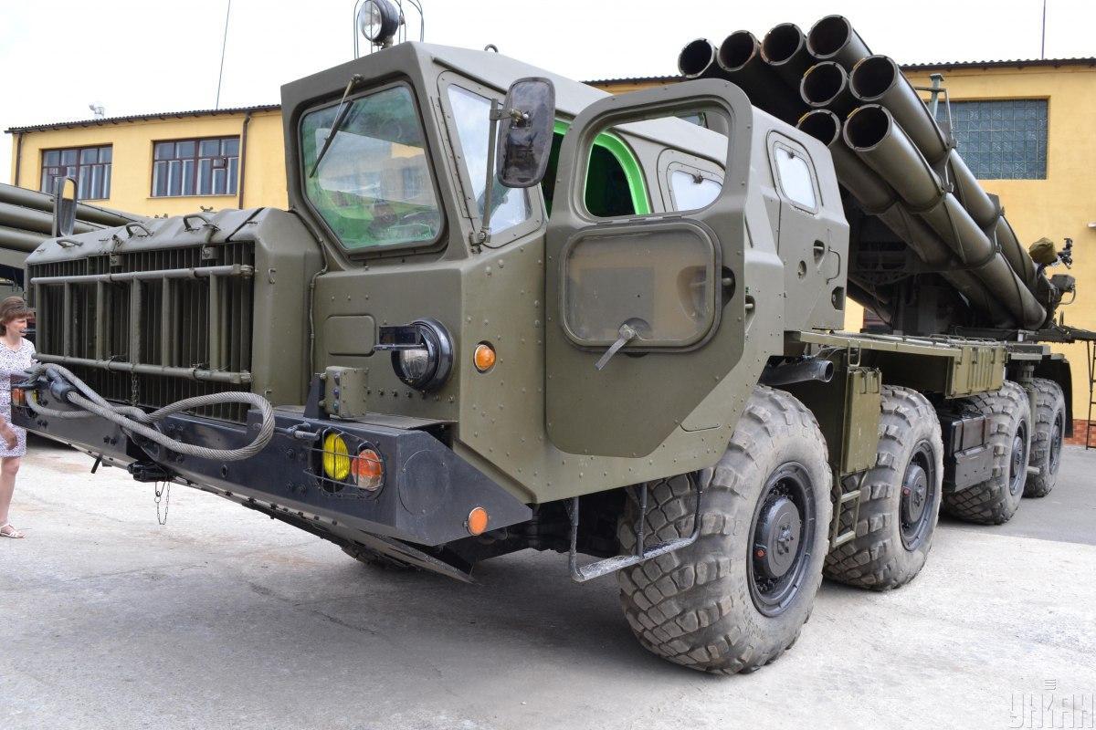 """Ракета Смерч - ракету до БМ """"Смерч"""" почнуть випробувати наприкінці 2020 року / Фото УНІАН"""