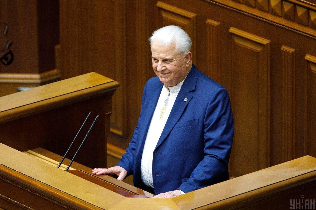 Кравчук застеріг від зовнішнього втручання у внутрішні справи України/ фото УНІАН