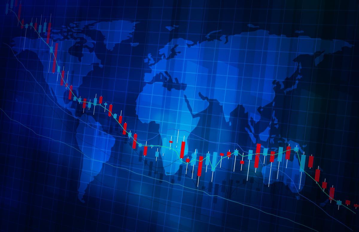 На финансовых рынках падение на фоне публикации показателей экономики Китая / фото ua.depositphotos.com