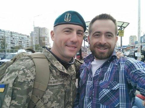 МедикНиколайИльин погиб на Донбассе/Фото Максим Пчелов