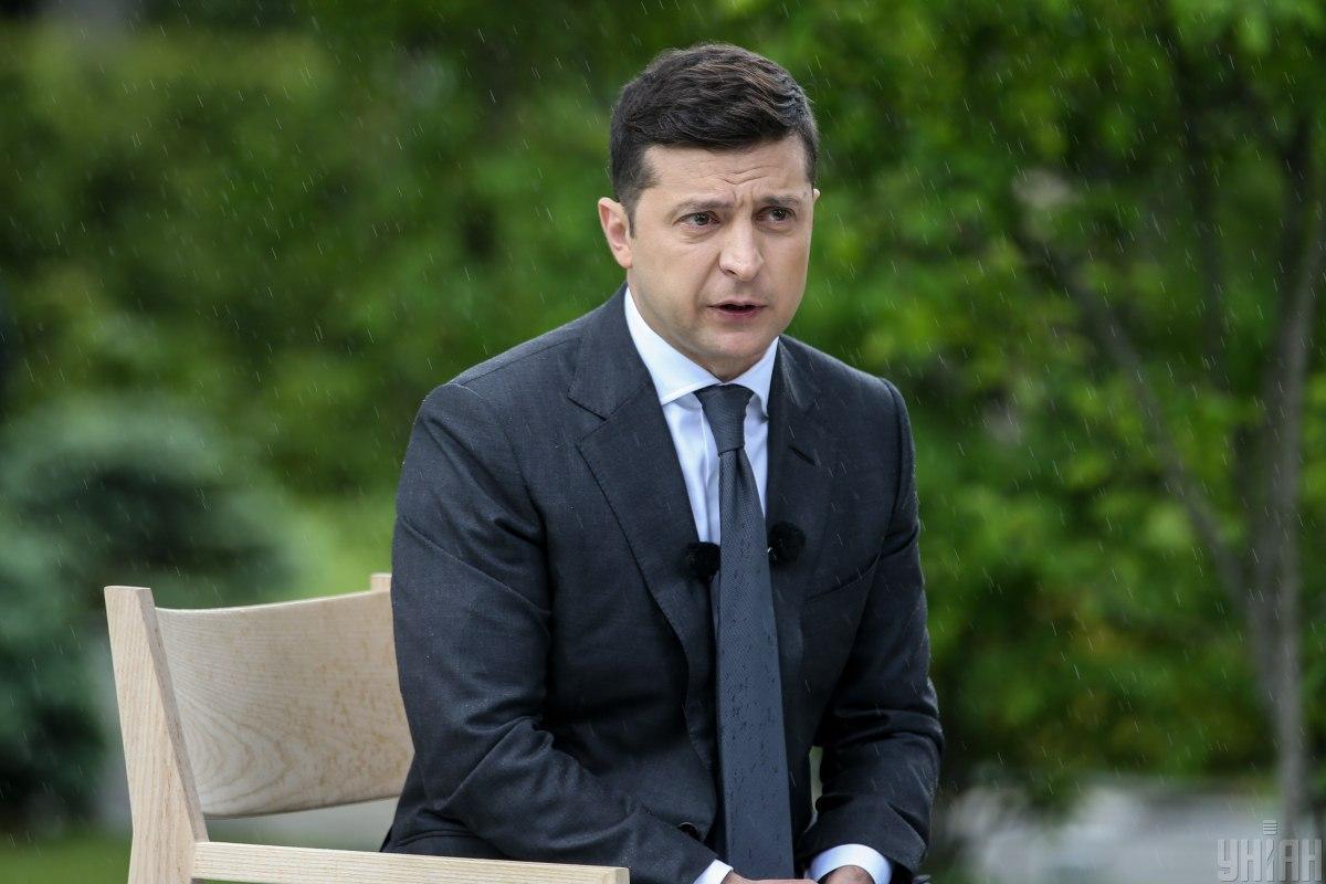 Зеленский заявил о необходимостиперезагрузки «Укртрансбезопасности» / Фото УНИАН