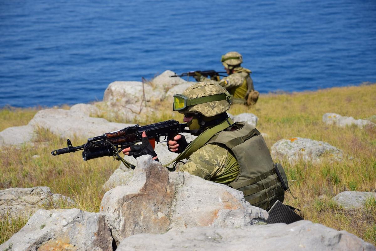 Военные провели учения по реагированию на кризисные ситуации в акватории Черного моря / фото ВМС ВС Украины